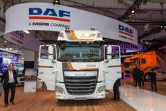 Lastbil för special upplaga för DAF XF Arkivfoto