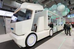 Lastbil för WABCO Smart på IAAEN Arkivfoto
