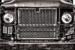 Lastbil Front Grille för last för armé för Förenta staterna M35 fotografering för bildbyråer