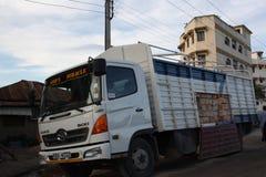 lastbil mombasa Royaltyfri Foto