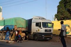 lastbil mombasa Fotografering för Bildbyråer