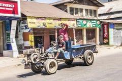 Lastbil på Dawei Arkivbilder