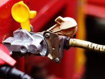 Lastbil till anslutning för släpluftbromsar Royaltyfri Fotografi