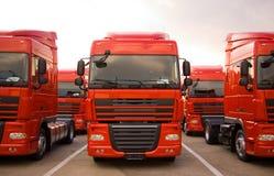 lastbilar Arkivbilder