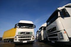 lastbilar Fotografering för Bildbyråer