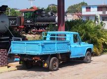 Lastbilar av den Varadero Kuban Royaltyfria Bilder