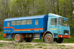 lastbilarbetare Royaltyfri Foto