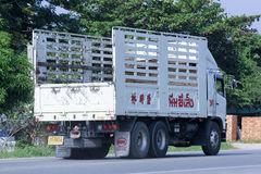 Lastbilen av Nim ser Seng Transport 1988 Arkivfoton