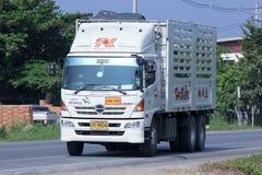 Lastbilen av Nim ser Seng Transport 1988 Royaltyfri Fotografi