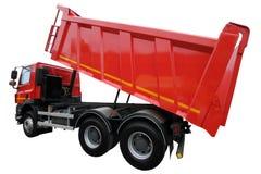 Lastbilen med lyftkroppen Arkivbild