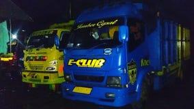 lastbilsförare Arkivbilder