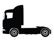 lastbilvektor stock illustrationer