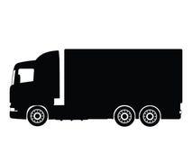 lastbilvektor royaltyfri illustrationer