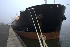 lastdockship Arkivbild