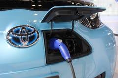 Lastenkostuum van Toyota voet-EV III elektrisch conceptenvoertuig Royalty-vrije Stock Foto