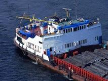lastfartyg arkivbild