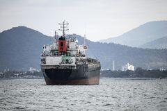 Lastfartyg bärare i stora partier Royaltyfria Foton