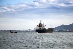 Lastfartyg bärare i stora partier Arkivbild