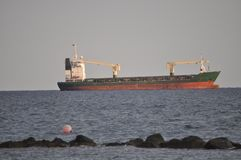 Lastfartygtrans. royaltyfri fotografi