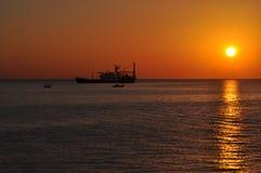 Lastfartygtrans. royaltyfria bilder