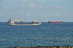 Lastfartygtrans. royaltyfri foto