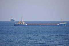 Lastfartygtrans. arkivbild