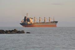 Lastfartygtrans. arkivbilder