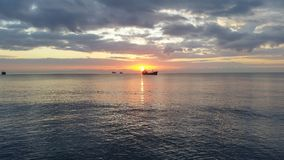 Lastfartygtrans. arkivfoton