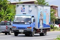 Lastlastbil av det Osotspa företaget Royaltyfria Foton