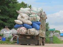 Lastlastbil-Tio-hjul lastbil Royaltyfri Bild