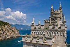 Lastochkino Gnezdo - landmark of Yalta. Ukraine Royalty Free Stock Images