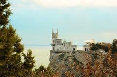 Lastochkino gnezdo / Swallow's nest, Crimea, Ukraine Royalty Free Stock Photography