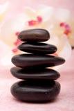 Lastone therapy rocks Stock Image
