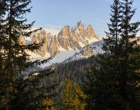 Lastoni di Formin, Itália imagens de stock royalty free