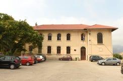 Lastovo, Croatia - August 2017: Lastovo Elementary School, on is. Land of Lastovo, Croatia Royalty Free Stock Images