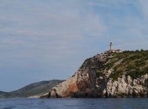 Lastovo een Kroatisch eiland in het Middellandse-Zeegebied Royalty-vrije Stock Fotografie