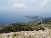 Lastovo in het Middellandse-Zeegebied Royalty-vrije Stock Foto