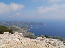 Lastovo in het Middellandse-Zeegebied Royalty-vrije Stock Fotografie