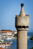 Lastovo town on the island Lastovo in Croatia Stock Images
