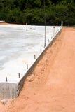 Lastra di cemento armato Fotografie Stock Libere da Diritti