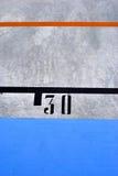 Lastra di cemento armato Fotografia Stock