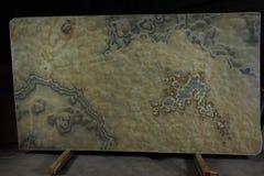 Lastra di onyx fumoso di pietra naturale, considerata come semiprezioso ed avente un effetto 3d fotografia stock libera da diritti