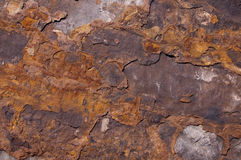 Lastra di pietra Fotografie Stock