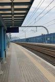 Lastra una stazione ferroviaria di Signa Fotografia Stock Libera da Diritti