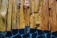 Lastre di legno. Immagine Stock Libera da Diritti