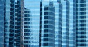 Lastre di vetro di vetro Fotografie Stock