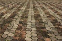 Lastre per pavimentazione Fotografia Stock