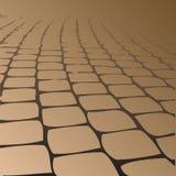 Lastre per pavimentazione pavimentate percorso. Fotografia Stock Libera da Diritti