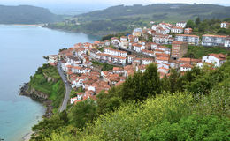 Lastres in Asturias, Spain Royalty Free Stock Image