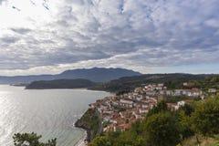 Lastres Asturie, Spagna fotografia stock libera da diritti